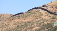 US-Mexico Border In Nogales, AZ (HD) c Stock Footage