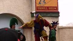 Renaissance festival Performers Stock Footage