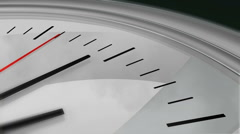 Clock Seconds Ticking HD Stock Footage