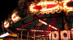 Stock Video Footage of Circus Carousel