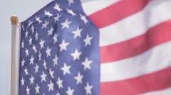 American Flag - stock footage