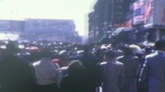 Atlantic City Boardwalk Circa 1942 (Vintage Film 8mm Home Movie) 52 - stock footage