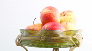 Stock Video Footage of Turning Apples HD