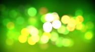 Stock Video Footage of Green bokeh loop