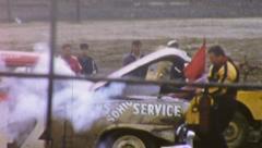 Demolition Derby Dragstrip Race noin 1959 (vintage Film 8mm Home Movie) 61 Arkistovideo
