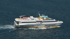 Messina ferry boat P HD 9272 Stock Footage