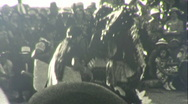 Stock Video Footage of Native American Indian Dance Circa 1939 (Vintage Film 8mm Home Movie) 65