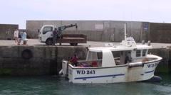 Crab Fishing 1 Stock Footage