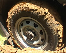 Skidding tires Stock Footage