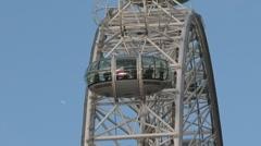 London ferris wheel 02 Stock Footage
