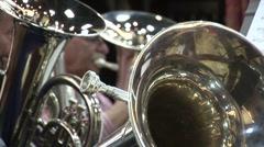 Trombones Stock Footage