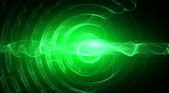 Green spirals seamless looping bg d4539R LN Stock Footage
