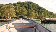 Boat Ride (HD)c Stock Footage