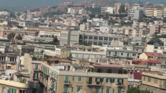 Messini Sicily City pan P HD 9128 Stock Footage