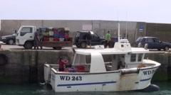 Crab Fishing 2 Stock Footage