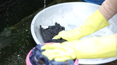 Washing Stock Footage
