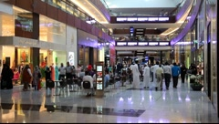 Dubai Mall, United Arab Emirates Stock Footage