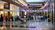Stock Video Footage of Dubai Mall, United Arab Emirates