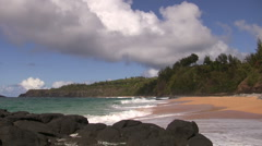 Island Waves Stock Footage