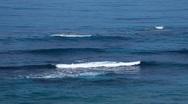 Stock Video Footage of Waves of Mediterranean sea, Cyprus