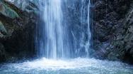 Stock Video Footage of Chantara Waterfalls in Trodos mountains, Cyprus