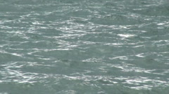 Choppy Sea Water - stock footage