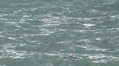 Stock Video Footage of Choppy Sea Water