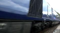Inter CityTrain Passenger Train Stock Footage