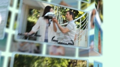 Montage of couples sharing and enjoying different kinds of moments together Stock Footage