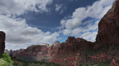 Zion national park, utah, usa Stock Footage