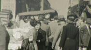 Stock Video Footage of New York City Street Scene 1930s 1940s (Vintage Amateur Home Movie) 46