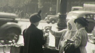 Stock Video Footage of New York City Street Scene 1930s 1940s (Vintage 16mm Amateur Home Movie) 47
