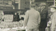 New York City Street Scene 1930s 1940s Vintage 16mm Amateur Home Movie 49 Stock Footage