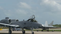 A-10 Thunderbolt Pilot Stock Footage