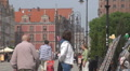 Old Town in Gdansk, Poland HD Footage