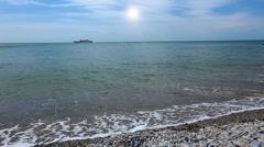 seascape - stock footage