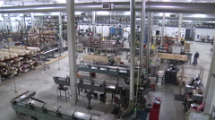 factory 4 - stock footage