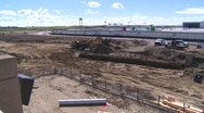 Stock Video Footage of construction, airport project pan wide