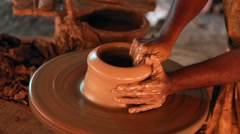 Pottery Making Stock Footage