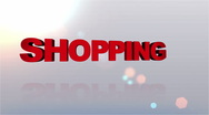 Stock Video Footage of Shopping Desires Button - HD1080