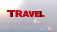 Stock Video Footage of Travel Desires Button - HD1080