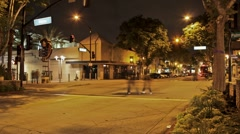 City Streets (Time lapse) Stock Footage