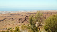 View on Maspalomas, Gran Canaria Stock Footage