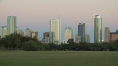 Austin Skyline Timelapse Stock Footage