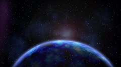 Space and Planet. Universe 2 Stock Footage