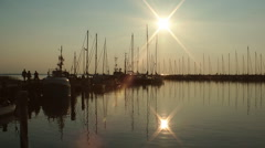 Timmendorf, Poel island, Germany Stock Footage