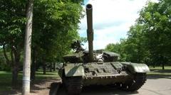 Soviet Tank 2 Stock Footage