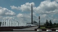 Stock Video Footage of Victory Park In Moscow 2