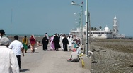 Stock Video Footage of Mumbai Haji Ali Dargah 4