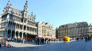 Stock Video Footage of Timelapse of Grand Place in Brussels